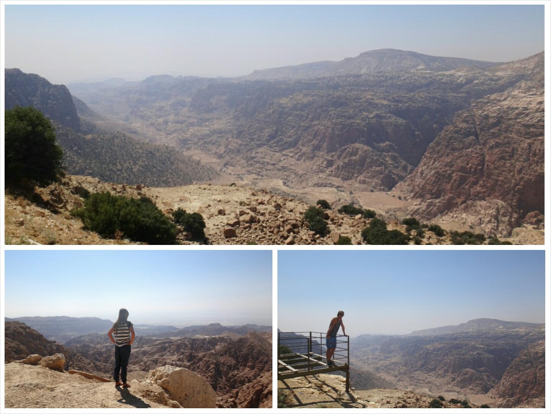 Gebirge Jordanien